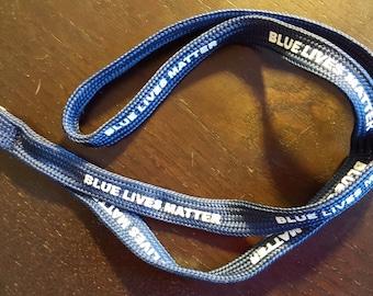 BLUE LIVES MATTER lanyard