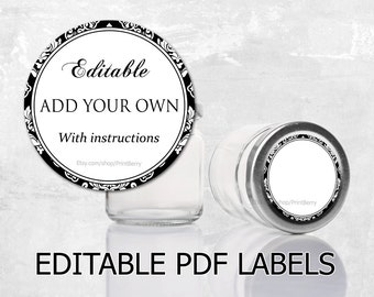 blank printable labels for canning jars