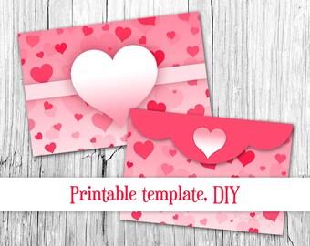 Floral Envelopes 4x6 Envelopes Printable Envelope Template Etsy