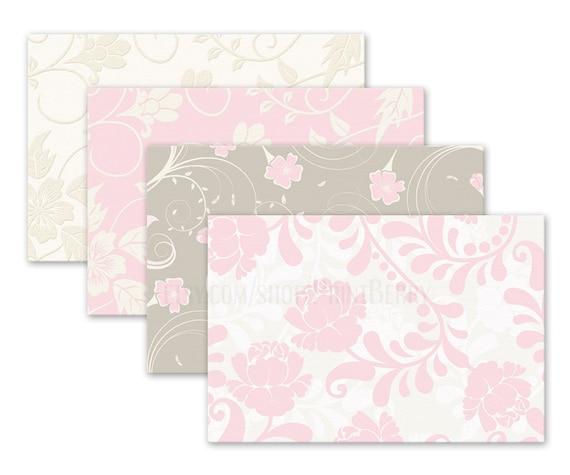 Floral Envelopes 4x6 Printable Envelope Template