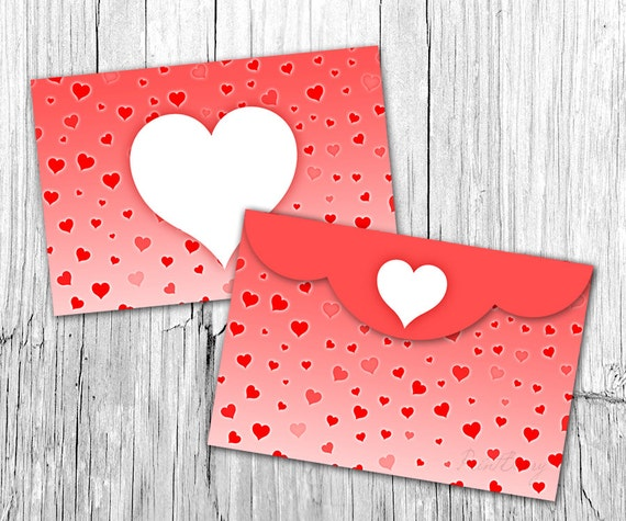Valentine Envelope Template X Envelopes Heart Envelope - 4x6 envelope template