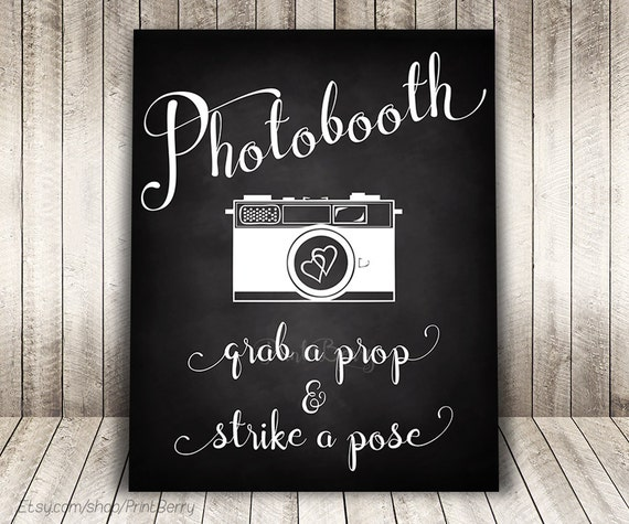 photograph relating to Photo Booth Sign Printable named Marriage photobooth indicator Marriage ceremony chalkboard signal Printable Marriage photograph booth signal printable Chalkboard marriage ceremony signal
