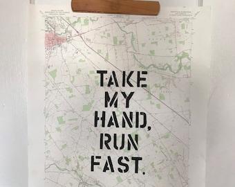 Take My Hand Map