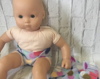 """Doll Accessories - Bitty Baby Diapers - Doll Diapers - 15"""" Dolls - Baby Doll Diapers - American Made - Baby Dolls"""