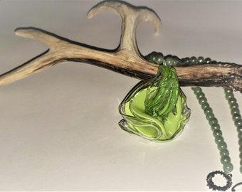 Acrylic Blossom necklace