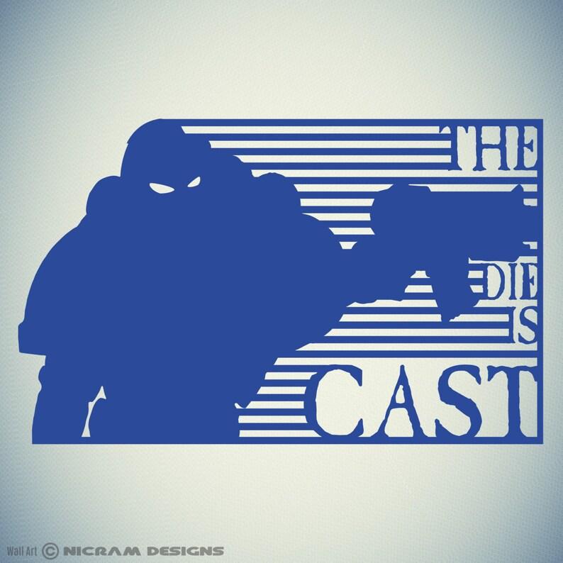 7396ceff1f The Die Is Cast Wall Art Gamer Vinyl Gaming Sticker Kids