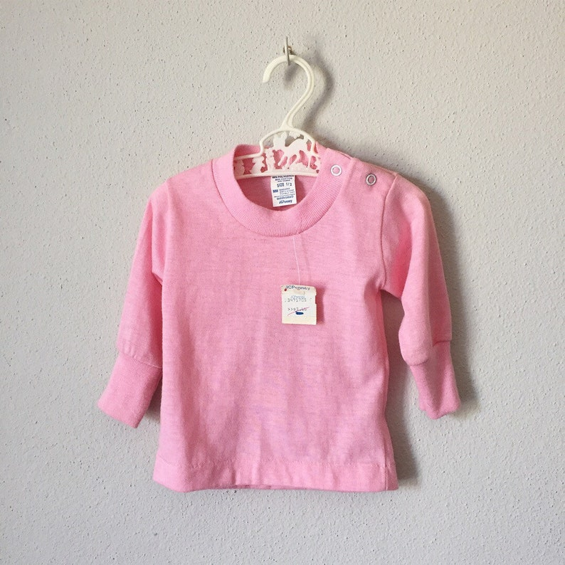 ef56c1195a7 Vintage Baby Shirt   70s 80s JCPenney Deadstock with Tags