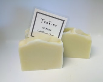 Tea Tree Fragranced Cold Process Soap by Lavish Handcrafted