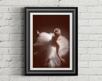 Ballerina Photo, fine art photography, ballet shoes, fine wall art, ballet print, pointe shoes, girls room decor, dance photography, dancer