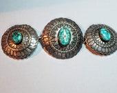 Navajo Turquoise Belt Buckle