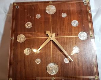 Vintage Coin Clock