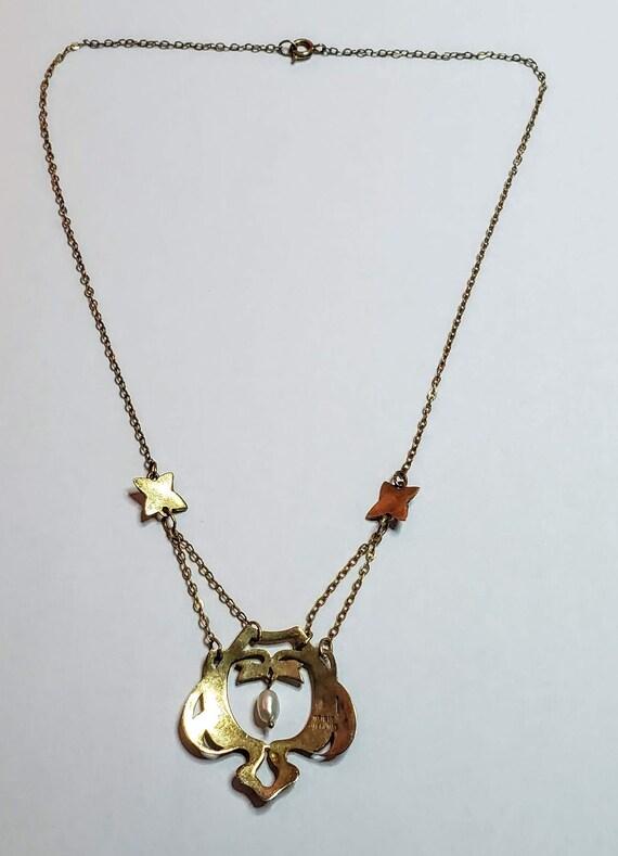 Art Nouveau Necklace - image 3