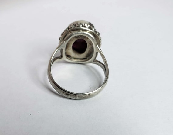Silver Ruby Ring - image 3