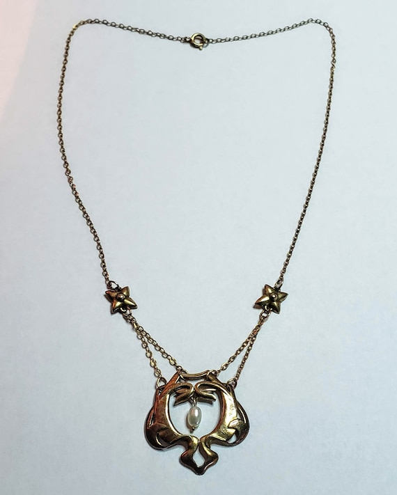 Art Nouveau Necklace - image 2