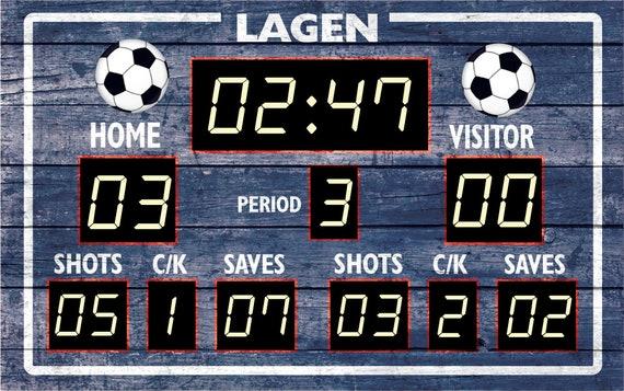 Harriet Bee Charleena Football Scoreboard Wall Sticker Wayfair