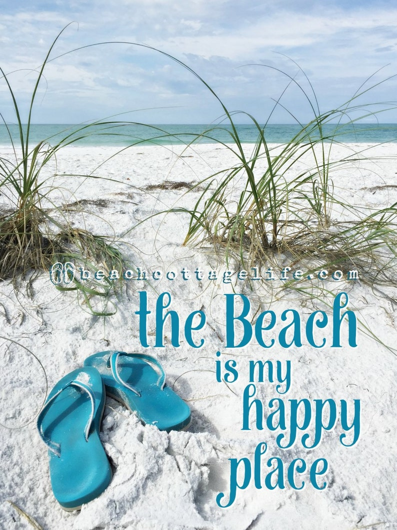 a1d07be3313b The Beach is My Happy Place Flip Flops Life is Better in Flip