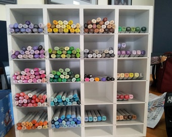 Copic or St&in Up Marker Storage Unit & Items similar to KAISERCRAFT Marker Storage Unit Assembled ...