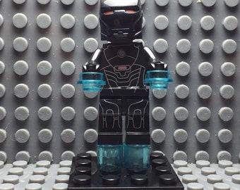 New Lego Marvel Super Heroes Infinity War Minifigure Iron Man Tony Stark Thanos