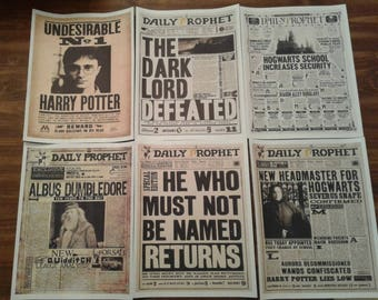 photo about Hogwarts Portraits Printable identified as harry potter newspaper template -