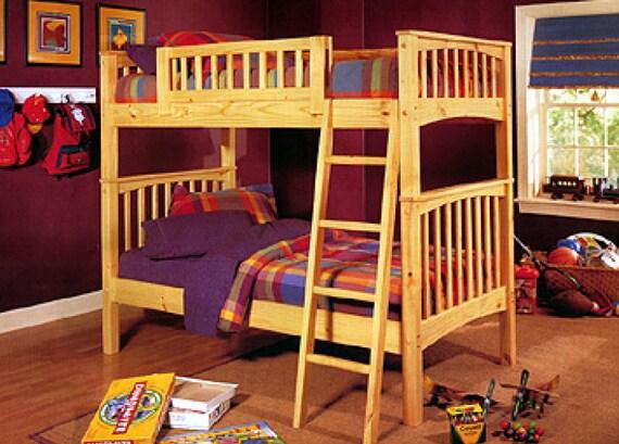 Bunk Beds Woodworking Plans Pdf Digital Download Etsy