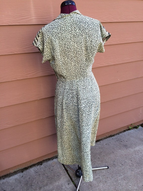 Handmade 40s style dress - image 2