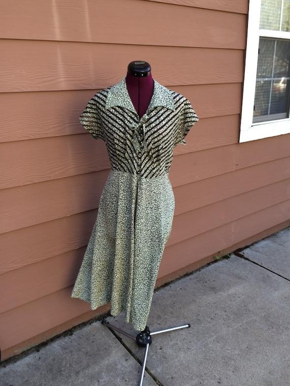 Handmade 40s style dress - image 1