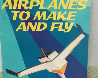 Paper airplane booklet