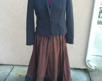 Old fashion looking skirt and jacket