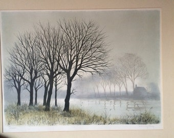 Jeremy King signed Lithograph