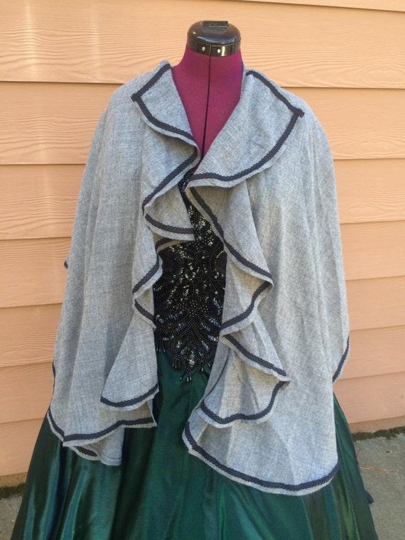 Victorian style cape