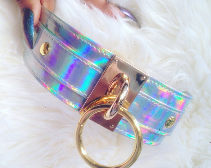 Featured listing image: PRETTY PSYCHO Holographic Choker
