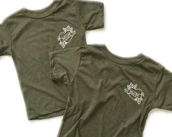 Mom Tattoo Shirt - Toddler/Children's