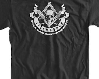 Freemasonry Masonry Creed Screen Printed T-Shirt Tee Shirt T Shirt Mens Ladies Womens Freemason Free Mason Masonic