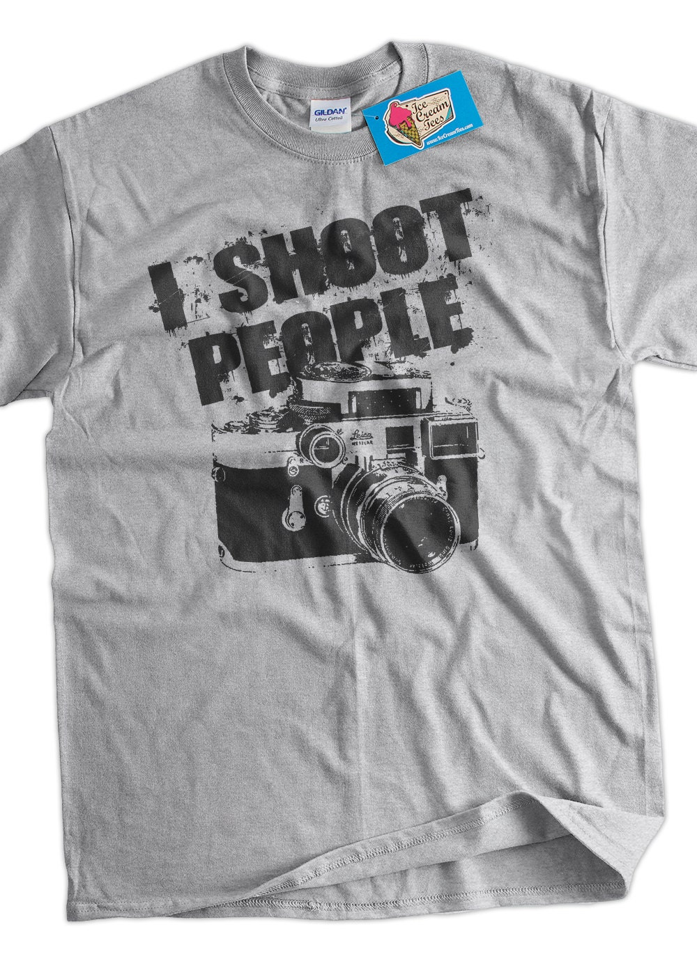 I Shoot People PHOTOGRAPHY T-Shirt Mens Womens Funny Camera Photographer Gift