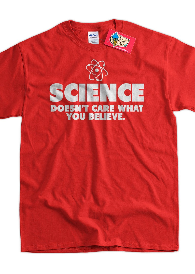 d7e44112 Geek T-Shirt Science T-Shirt Science Doesn't Care What You | Etsy