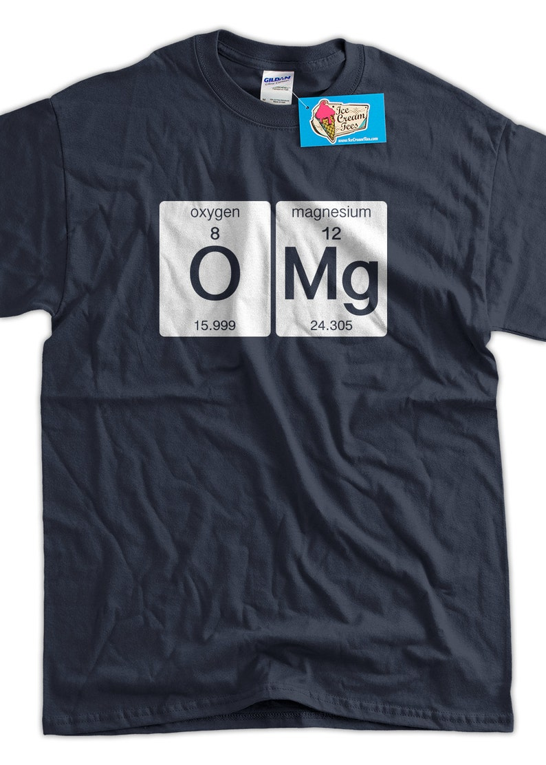 92c2b435a ... funny science t shirt t shirt oxygen magnesium funny geek etsy ...