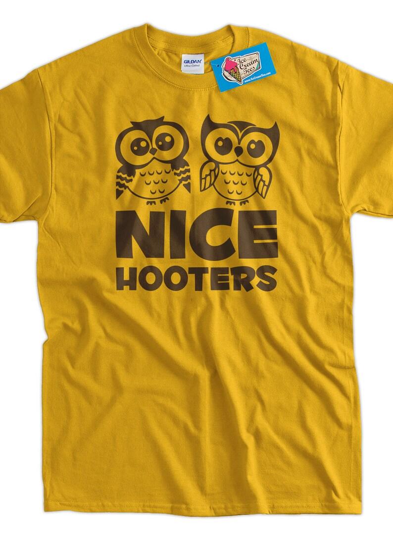 bb5fe90ce Funny Geek T-Shirt Nice Hooters Tee Shirt T Shirt Geek Mens | Etsy