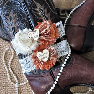 Personalized Burlap Country Chic Wedding Garter Set,Rustic Keepsake /& Toss Wedding Garter Set,Wedding Garters