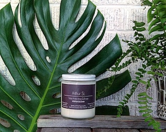 Arthur St - Green Tea, Ginger Eco-friendly Vegan Soy Candle  - Fine Fragrance [Paraben/Phthalate Free] - clean burning