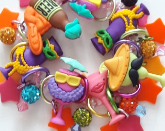 Party drinks bracelet/Beadiebracelet