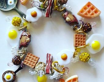 Breakfast bracelet/Beadiebracelet