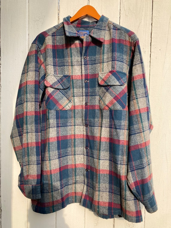 Men's Pendleton flannel shirt XL