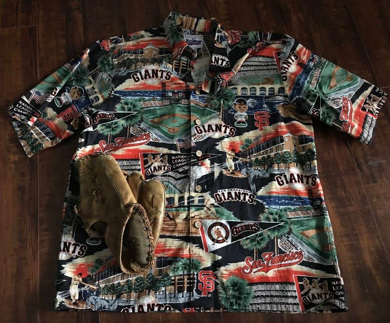 2ced4137 Reyn Spooner SF Giants Hawaiian shirt San Francisco Giants   Etsy
