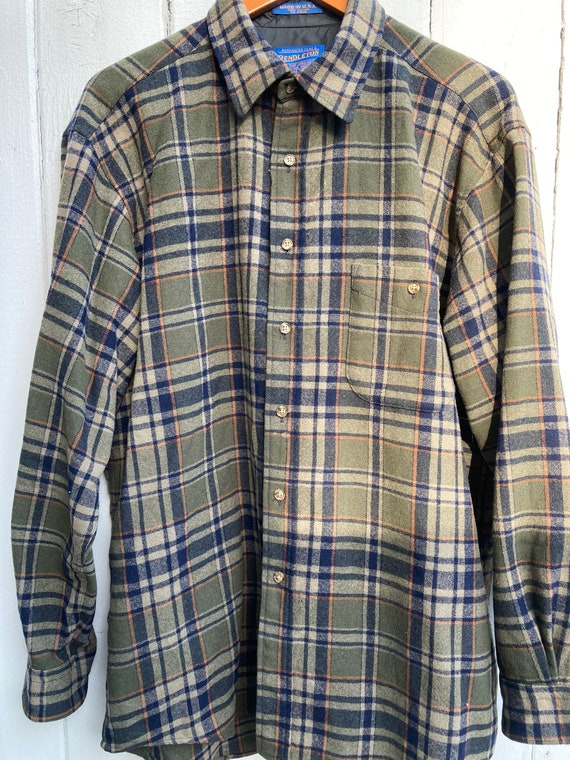 Vintage Men's Pendleton flannel shirt