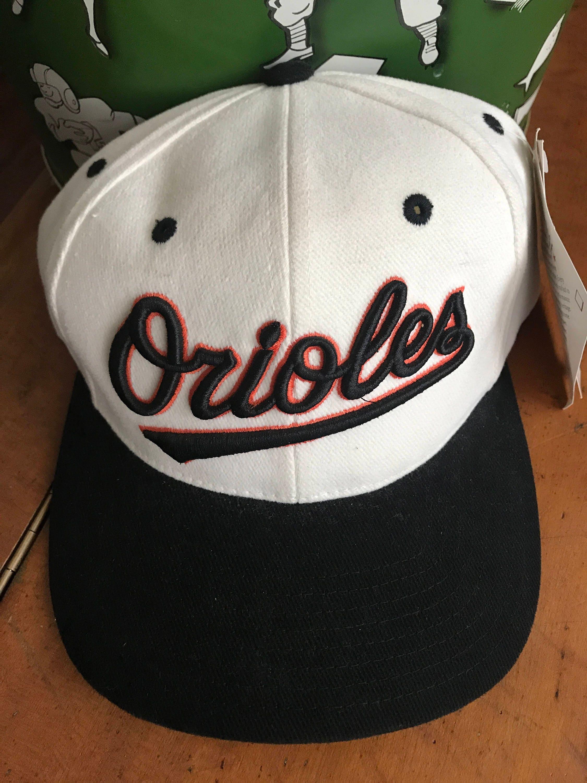 ANNCO 90s SnapBack Baltimore Orioles retro hat Deadstock  2d5a69835ed