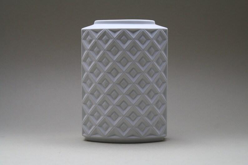 Alka Porzellanfabriken Alboth & Kaiser K.G Porcelain Op Art image 0