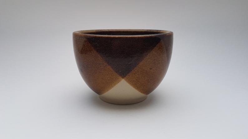 Otto Wichmann brown glazed studio bowl image 0
