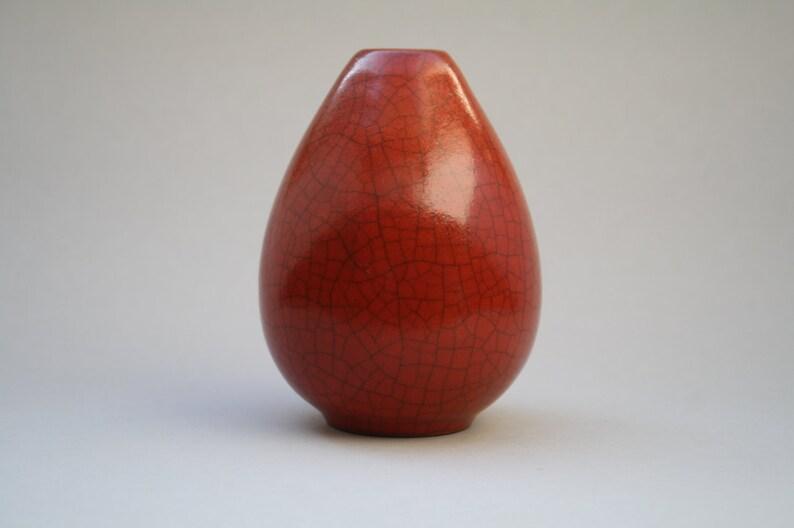 Maria Laach crackled glazed vase 1930s image 0