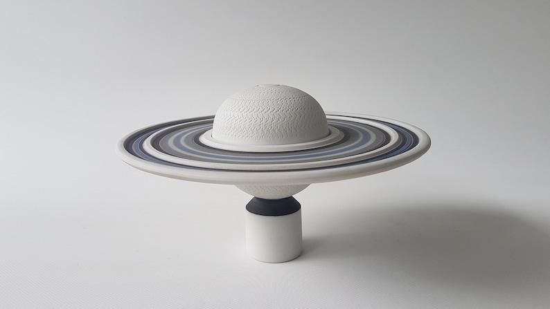 Horst Goebbels porcelain Saturn object image 0