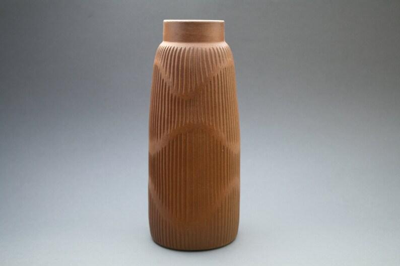 Beautiful Op  Art stylish studio vase image 0